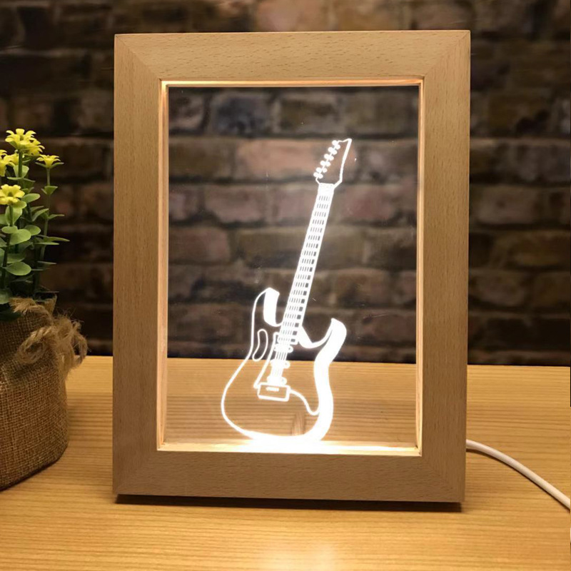 SOCOVE SC3D-<strong>W003</strong> Custom Photo Frame Lamp from Shenzhen Factory