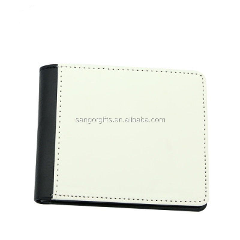 Personalized One Side Blank Sublimation DIY Men's Short Wallet