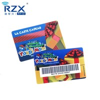 Cheap Standard Size Custom Printing Plastic Gift Card PVC Barcode Card