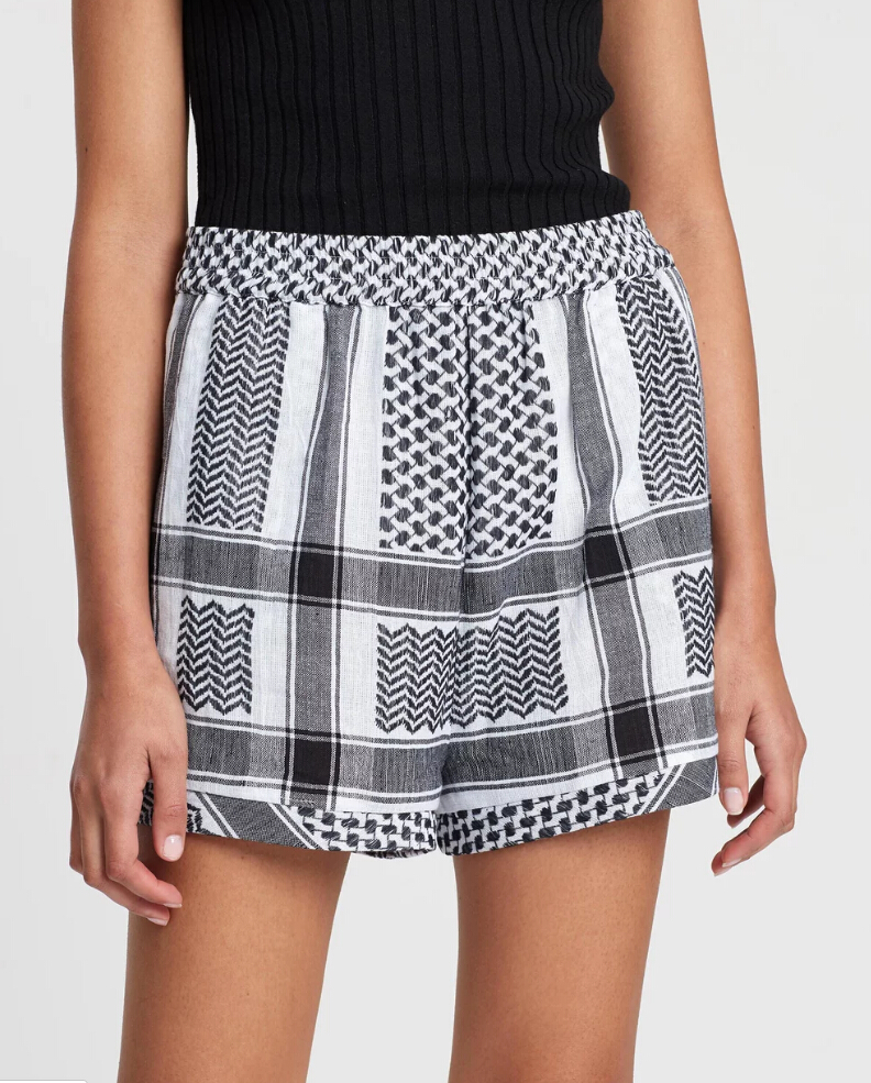 New fashion summer Pure woven cotton basic Shorts