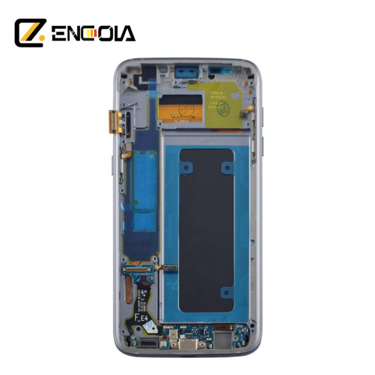 Engola Replacement LCD touch screen for Samsung Galaxy S7 edge G935F display digitizer assembly original OEM 18 month <strong>w</strong> arranty