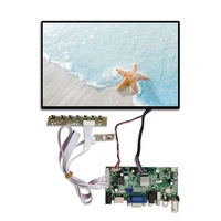 "lvds 10.1 inch lcd hdmi 10"" ips raspberry pi lcd module 3 kit model b 3b touch screen 10 inch raspberry pi 2 screen display"