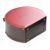 black luxury high quality round flower leather hat box