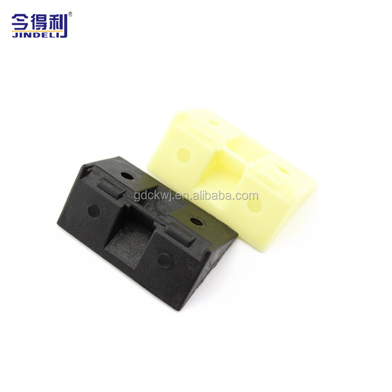 Furniture  Hardware Plastic Cabinet Corner Connector PP Furniture Drawer Decorative Corner Brace