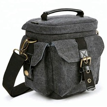 Gray Mirrorless Camera <strong>Holster</strong> Bag Digital Slr Dslr Carrying <strong>Case</strong> For Compact System