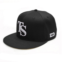 Wholesale Sample Free Fitted Cotton Snapback Cap Custom Hats