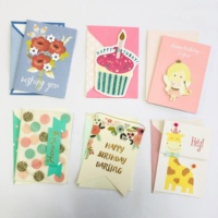 Customized Handmade Greeting Cards Thank You Cards Invitation Cards With Self-adhesive Envelopes
