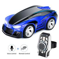 Upgraded Remote Control Car Rechargeable Toy Voice Control Car Command by Smart Watch Creative Voice-Activated car for Kids,
