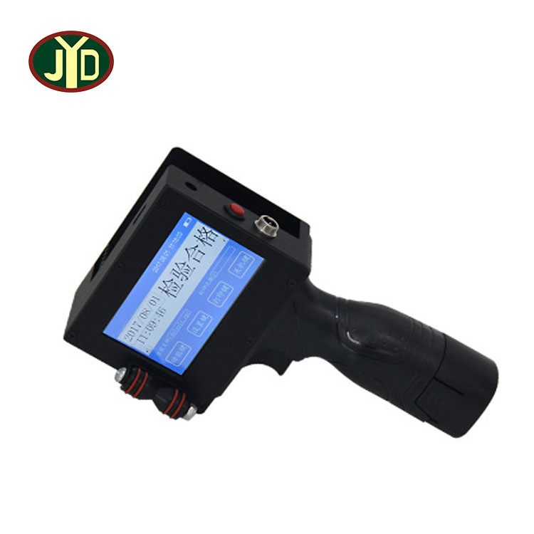 JYD Hot Sale Portable Handheld Inkjet Printer M-3 Touch Screen Coding Printing Machine Expiry Date Print On Wood Plastic <strong>Paper</strong>