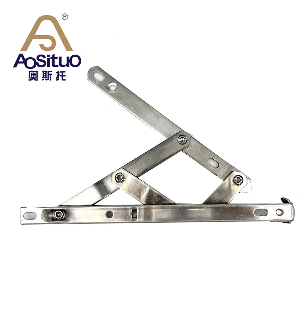 Ready to ship 13.4mm square groove Stainless steel window accessories <strong>friction</strong> hinge