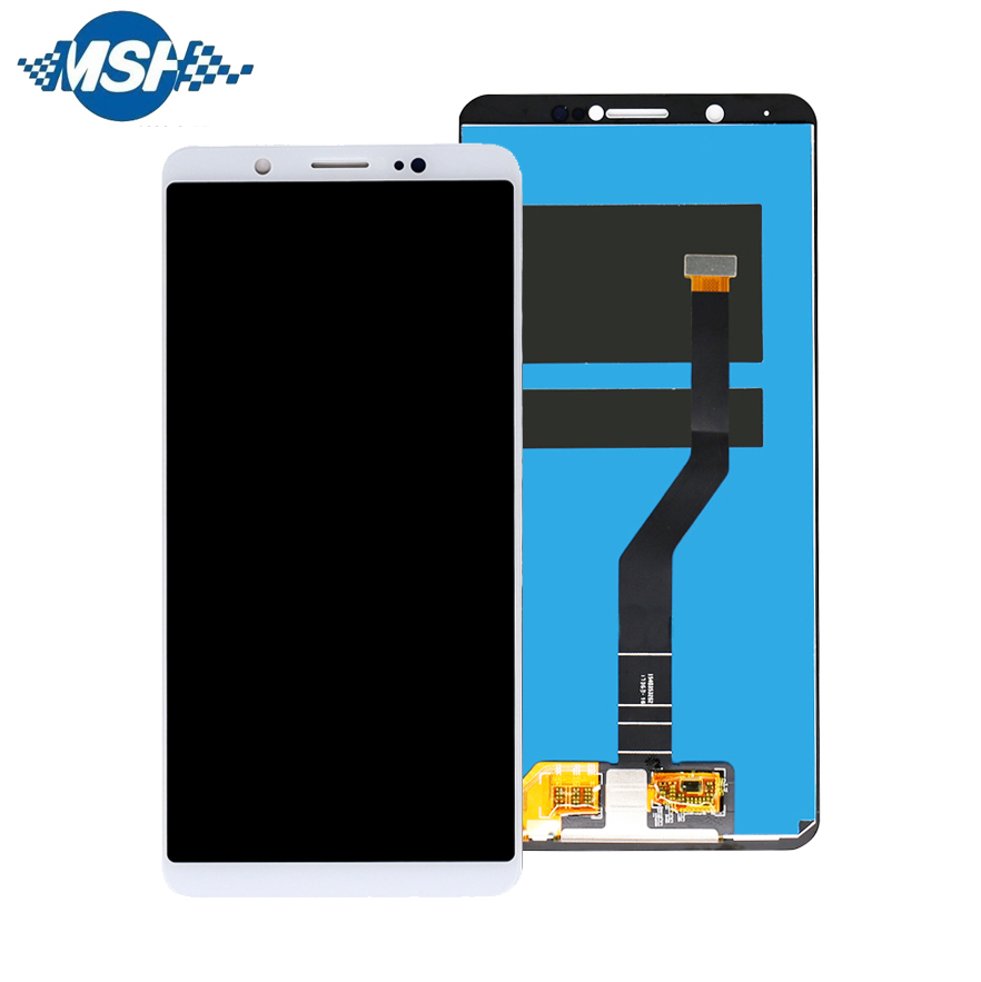 Free shipping LCDFor Vivo V7+ Y79 <strong>Z10</strong> Mobile <strong>LCD</strong> Screen 5.99 inch Display with Touch Panel Digitizer <strong>LCD</strong> Replacement For V7+ Y79