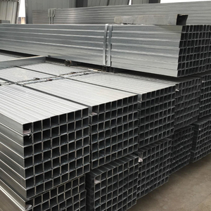 Q235 75x75 tube Square ERW Welded Hollow Section Steel Tube Pipe