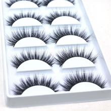 High Quality Synthetic Eyelashes 5D Faux 25Mm Mink Lashes With Custom Eyelash Packaging <strong>C10</strong>