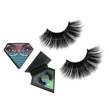 Dramatic 25mm 6d thin strip band thick makeup mink eyelashes with customize box
