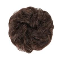 Messy Hair Chignon Scrunchies for Women Hair Donuts Ponytail Human Hair Bun Extensions