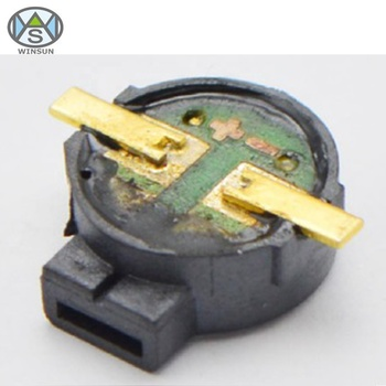 High Quality D 9 x H 4 mm 1.5V 2700Hz 85dB Side Sound Wireless SMD Electromagnetic Buzzer For Shared Bike