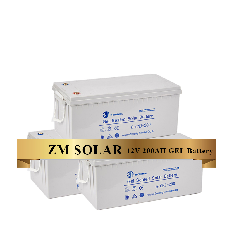 Factory Prices Top Grade Gel Agm <strong>Battery</strong> 12v 200ah Solar <strong>Battery</strong> For PV Energy Storage Use