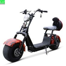 Hot Selling Adult Electric Motorcycle Lithium Battery 60V 20Ah Scooter Citycoco 3000 <strong>w</strong> electric scooter