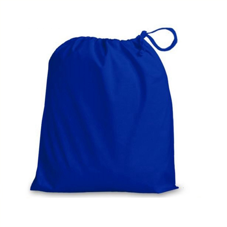 cool navy blue child kids personalize gym rpet drawstring bag for kid