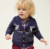 Christmas baby navy knitted sweater baby boy clothes  RL190314