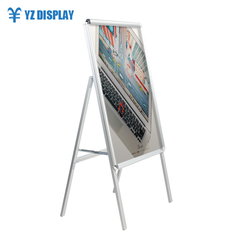 A Frame Sign Aluminum Sign Wholesale Aluminum Advertising <strong>display</strong> <strong>A0</strong> poster <strong>display</strong> stand