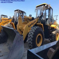 Used Liugong Zl50CN Zl50 5 ton Shovel Bucket Wheel Loader