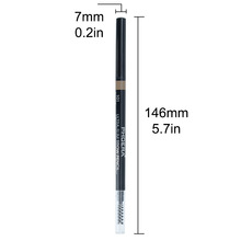 PHOERA Long Lasting 5 Colors Waterproof Private Label Ultra Slim Eyebrow Pencil