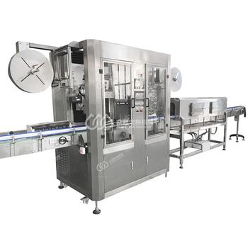 Manufacturing Plant automatic wine bottle shrink wrap tunnel machine