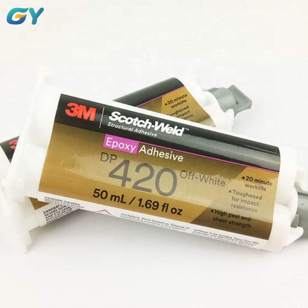 3M Weld DP Glue Epoxy <strong>Adhesive</strong> DP420 Two Component <strong>Adhesive</strong> Glue , Off-white or Black Color