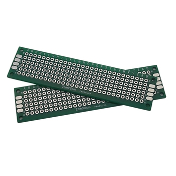 Smart-bes Electrocnis Double-sided tin plated--PCB Printed circuit board 2*8cm-- soldering circuit board/hole board