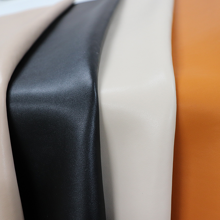 fire retardant genuine leather effect composition PU synthetic microfiber leather