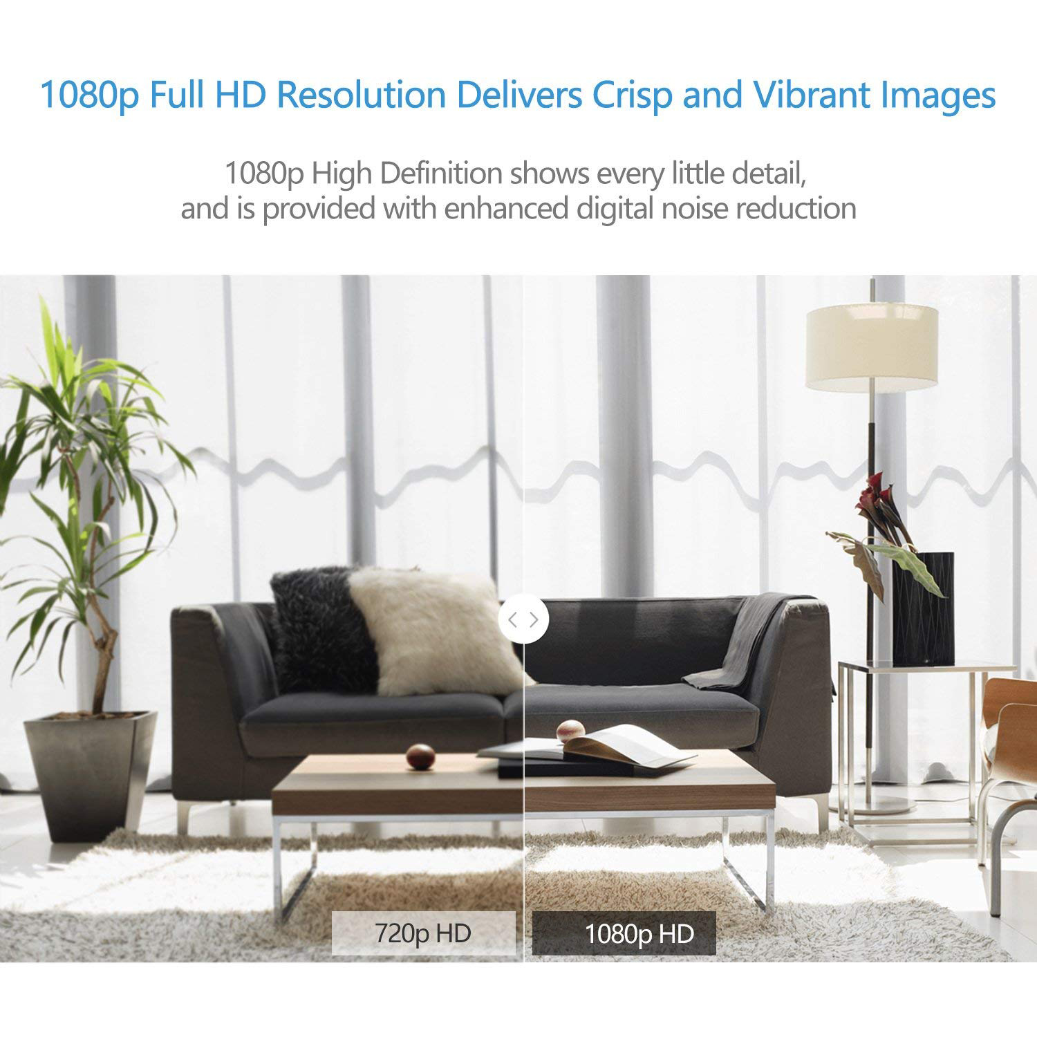Full HD 1080p Wireless Surveillance IP Camera With Night Vision Smart Wifi IP Wireless Home Security Camera