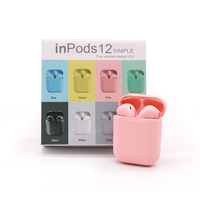 Macarons Handsfree In ear Mini Noise Cancelling Sport TWS BT Wireless Earbud Bluetooth Earphone with Mic Headphone