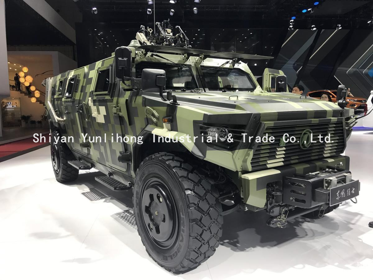 Dongfeng bulletproof all terrain off-road armoured vehicle
