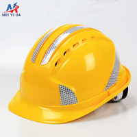 Safetymaster abs mining construction reflective hard hats safety helmet