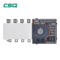 CSQ low price AC electrical changeover switch ATS 220v 380v 4P 3 phase ATSE controller automatic transfer switch for generator