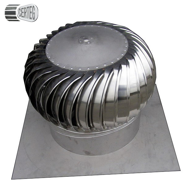 Size 300MM Energy Saving Stainless Steel Whirlwind Roof Air Ventilator <strong>Turbine</strong>