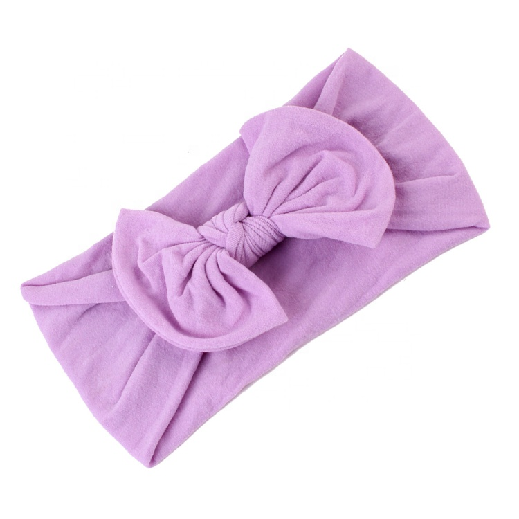 Bowknot Headband for Baby <strong>21</strong> Colors Cloth Elastic Hair Headbands