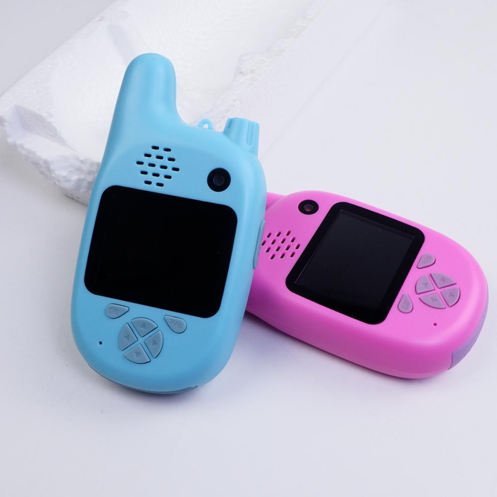 Children Mini Camera 2.0 inch HD <strong>Screen</strong> 2 in 1 Children Digital Camera 2000W MP3 Games With Walkie Talkie