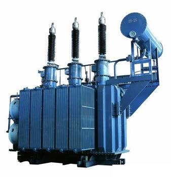 High voltage 145 kv 25mva three phase step up oltc transformer