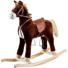 Factory Direct Customized Happy Trails Plush Rocking Horse