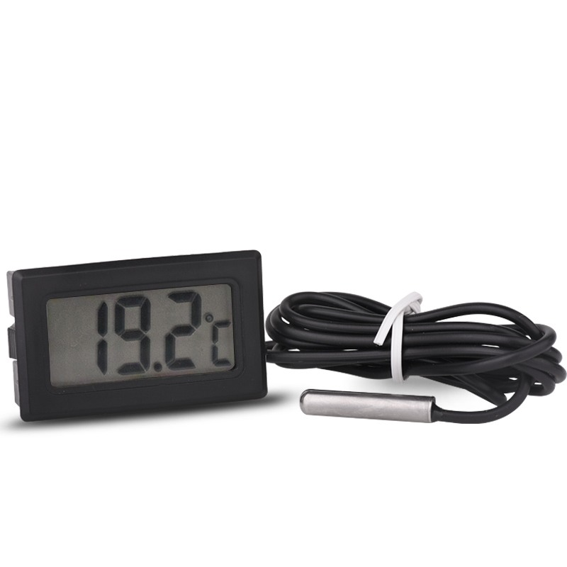 -50~<strong>110</strong> <strong>C</strong> Digital Thermometer with probe 1M 2M 5M TPM-10