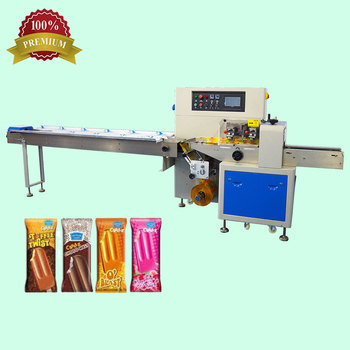 Horizontal Multi-Function Packaging Machines Price,Ice Cream Popsicle Pillow Packaging Machinery For Food