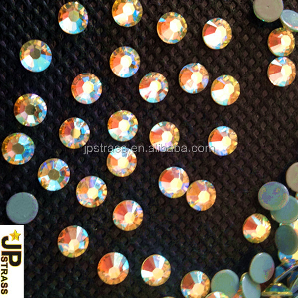 Rhinestone Newly Cutting Facets 16 Cutting With 8 Big and 8 Small 6A Shiny For Clothing Decoration Wholesale Supplier