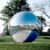 Mirror Decorative Stainless Steel Hollow Ball/ Metal Brushed Sphere for Garden Ornament