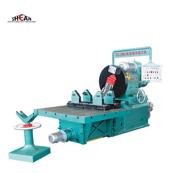 Butt welding Bend beveling machine with calmping unit