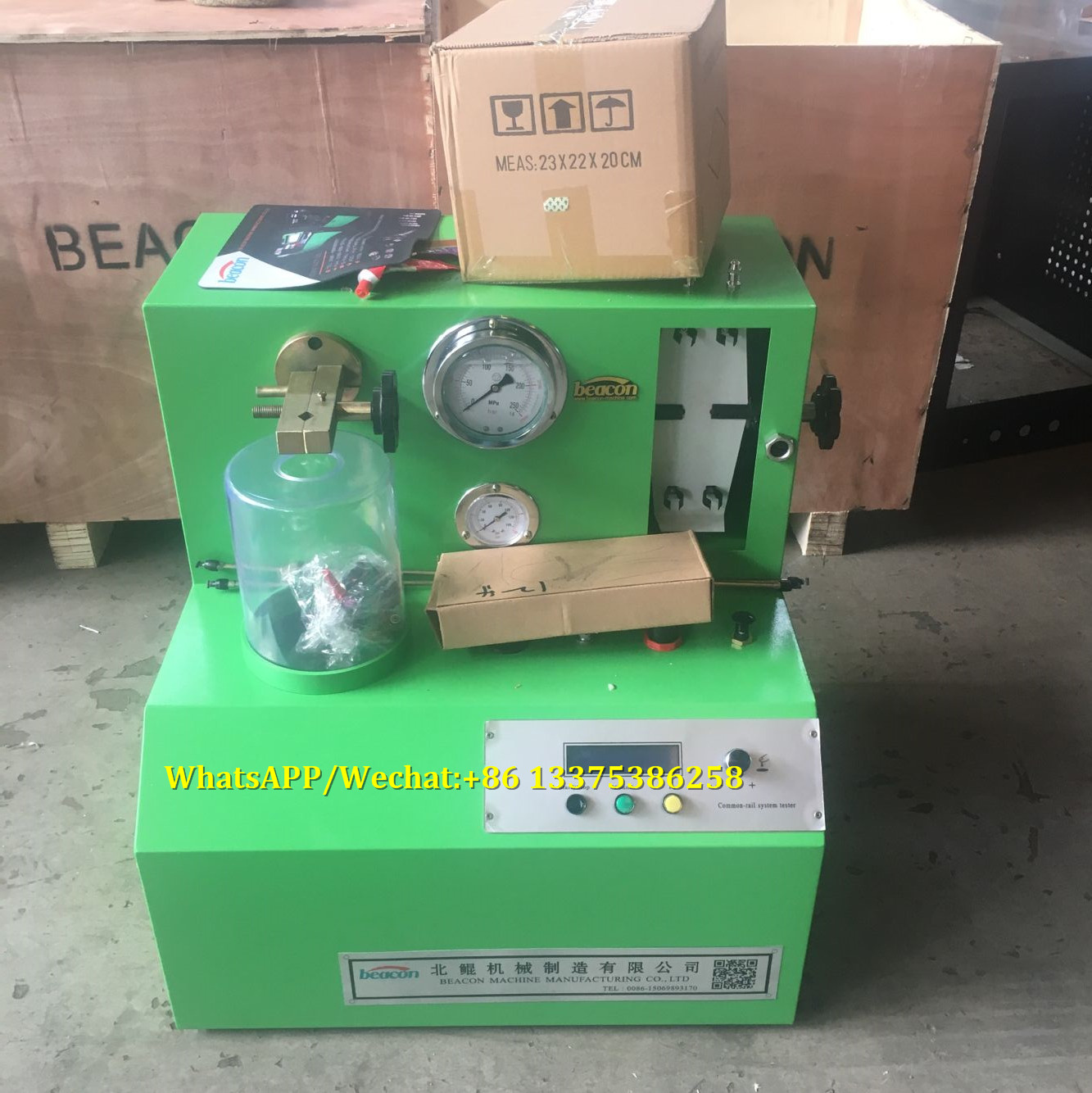 PQ1000 CRDI common rail diesel system injector test bench