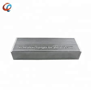 Compact Plate Bar Type Custom Intercooler Core