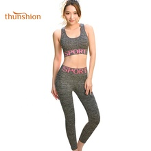 Dropshipping thunshion breathable seamless <strong>sports</strong> clothing women yoga suit for daily <strong>wear</strong>