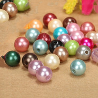 Pearl beads/chunky beads/20mm plastic beads for necklace